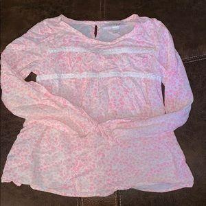 Girls long sleeve blouse